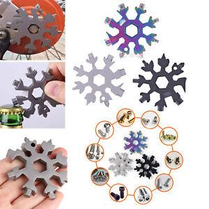 18in1-Stainless-Multi-tool-Snowflake-EDC-Keychain-Tool-Screwdriver-Bottle-Opener