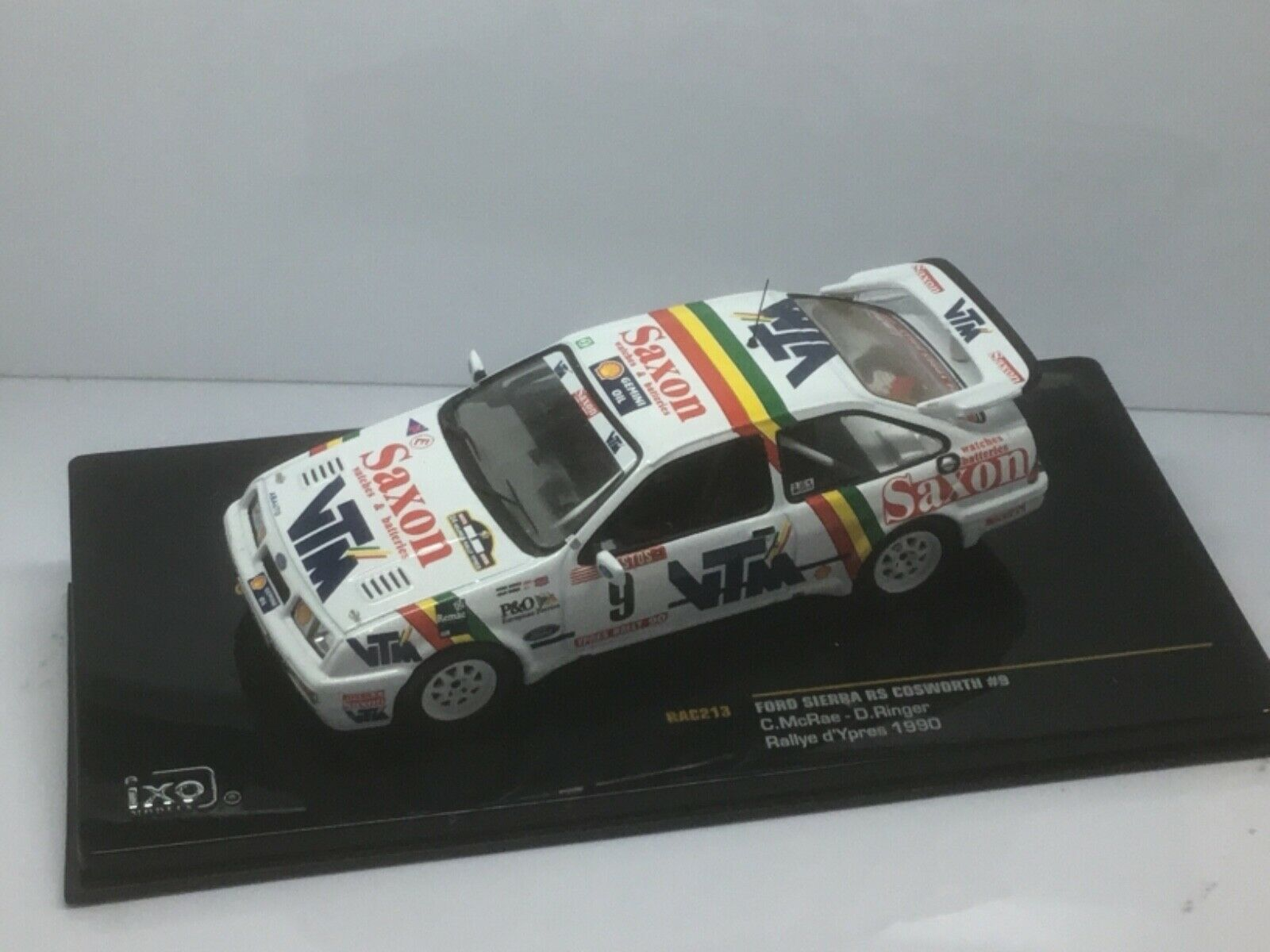IXO RAC213 Colin McRae Ford Sierra RS Cosworth d'ypres RALLYE RALLY 1990 1 43