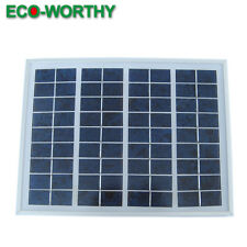 5Watt 12V poly solar panels, 5watt pv solar module, 5w panel for battery charge