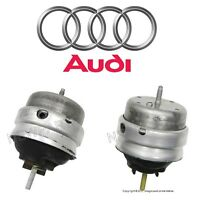 Audi A4 Quattro 2.0l L4 Pair Set Of Left And Right Engine Mounts Genuine