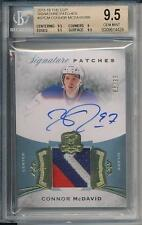 Connor McDavid 2015-16 The Cup Signature Patches RC Rookie /99 BGS 9.5 10 Auto!!