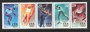 Scott-2807-11-1994-Commemoratives-29-cents-Winter-Olympics-Block
