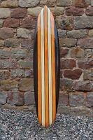 Deko Surfboard , Surfbrett, 100cm / Su100 N9, Surfbretter Holz Dekosurfboard