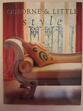 Osborne & Little Style - Stylish Home Decorating Ideas by Jackie Cole, HB 1997