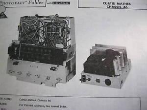 CURTIS-MATHES-46-TUNER-RECEIVER-PHOTOFACT