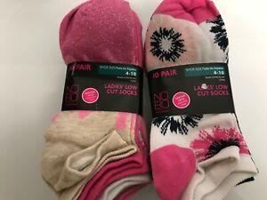 peach sorbet punk 144968 Lot of 3 HUE socks white