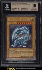 2002 Yu Gi Oh! Dark Duel Promos Blue Eyes White Dragon P #DDS 001 BGS 10