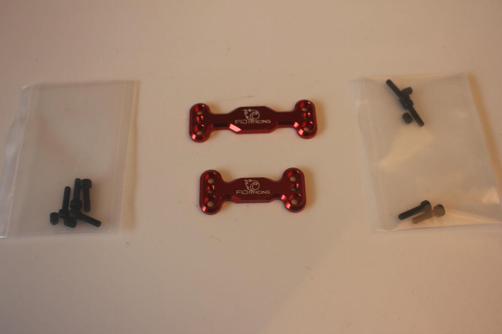 FID CNC CNC CNC alloy Front + rear gear box sway bar mount for losi 5ive-t 5T 1 5 2pcs 2c8709