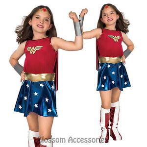 CK169-Wonder-Woman-Deluxe-Super-Hero-Fancy-Dress-Girl-Book-Week-Child-Costume