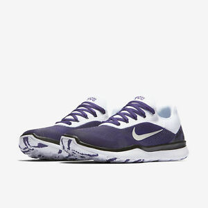 962d8c8ff6 Nike Free Trainer V7 Week Zero TCU Horned Frogs Shoes AA0881-501 ...