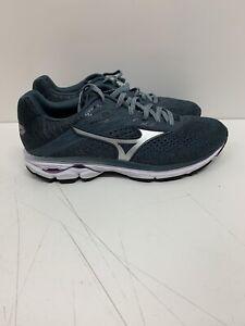 Mizuno-Wave-Rider-23-Grey-Lilac-Running-Shoes-411114-969A-Women-s-Sz-8-EU-38-5