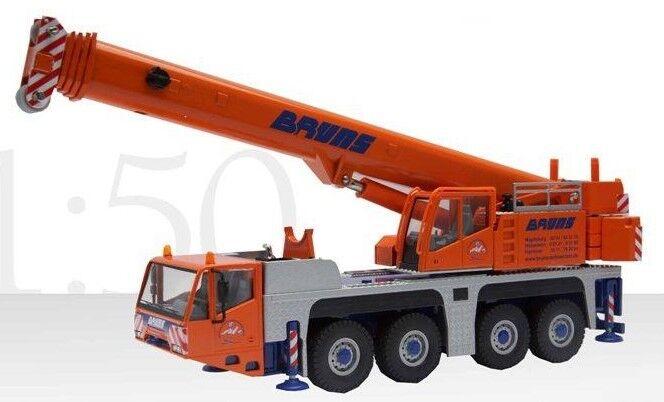 CON2104 11 - Grue TEREX DEMAG AC 100 4- 4 Essieux  BRUNS  - 1 50