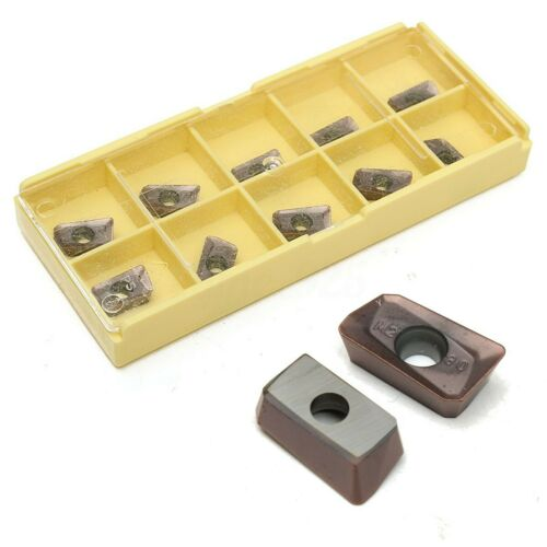 10pcs APKT11T308-PM With Box For Carbide Tungsten Steel Milling Inserts