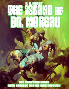 THE-ISLAND-OF-DR-MOREAU-Original-H-G-Wells-Novel-Illustrated-by-Mike-Hoffman