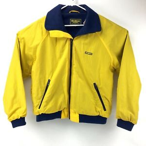 Osh Kosh Mens XL VTG Blue Fleece Lined Winter Vest Full Zip