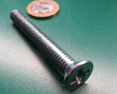 M4 x 0.7 x 30 mm L 100 Pcs Pan Head Metric Machine Screw 18-8 Stainless