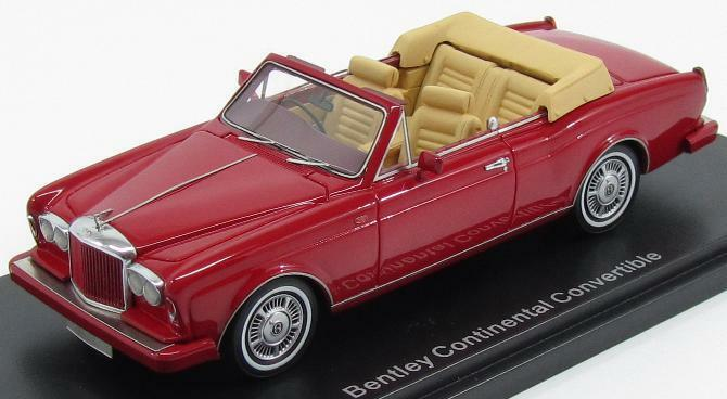 Bentley Continental Congreenible 1985 Red NEO44150 NEO44150 NEO44150 1 43 f23456