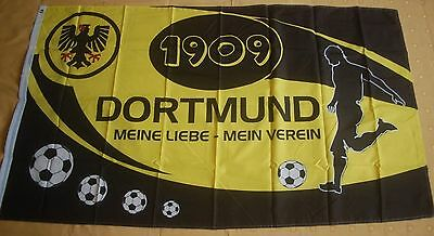 Aus Dem Ausland Importiert Dortmund 1909 Meine Liebe Mein Verein Fußball Fanflagge Fan Fahne 150 X 90 Cm Die Nieren NäHren Und Rheuma Lindern