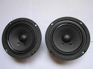 """8/"""" Woofer Speakers.Replacement.8 ohm.eight inch drivers.Subwoofer Pair NEW 2"""