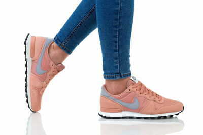 Nike internacionalista Women zapatos señora casual zapatillas Plum Dust 828407-501