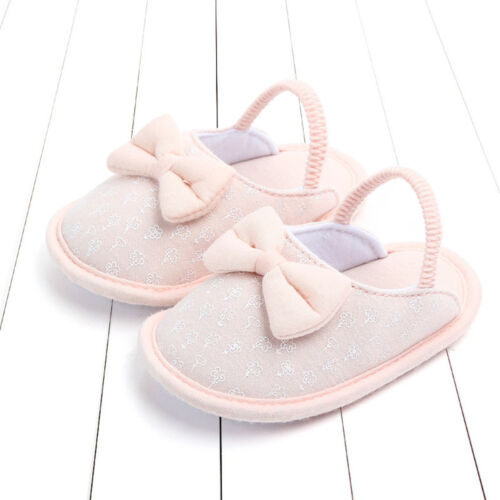 Baby Girls Boy Infant Animals First Walker Shoes Toddler Warm Slippers Shoes