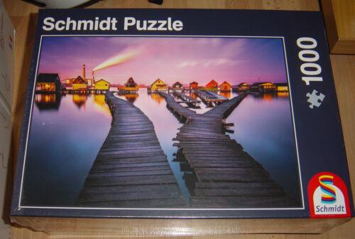 Puzzles & Geduldspiele Schmidt 58198 Puzzle Auf dem Heimweg,1000 tlg.Puzzle,NEU!