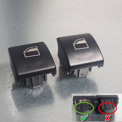 Auto & Motorrad: Teile Hingebungsvoll 2 Stück Fensterheber Schalter Taster Fensterheberschalter Taste Für Bmw 3er E46 Schalter