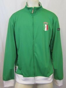 RARE-FIFA-OFFICIAL-LICENSED-MEXICO-SOUTH-AFRICA-2010-TRACK-JACKET-SZ-XL-VIC-THOR