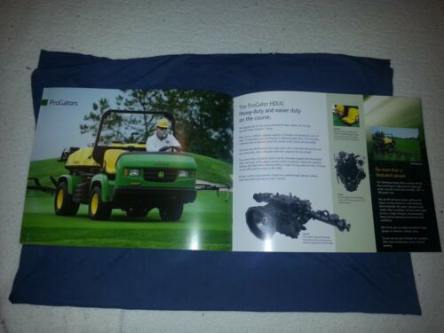 "John Deere /""Gator Turf Utility Vehicles/"" Catalog Brochure Leaflet"