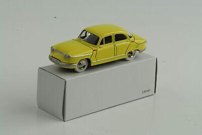 Norev Panhard Dyna Z12 Gelb #451896 1957-1:87