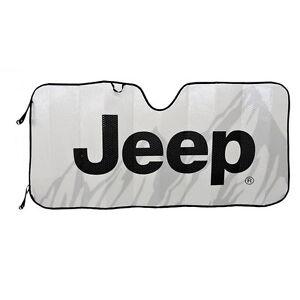 Details about New JEEP Mopar Elite Car Truck Suv Front Windshield Accordion  Folding Sun Shade 20f789d298e