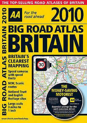 (Good)-AA Big Road Atlas Britain 2010 (AA Atlases and Maps) (Paperback)-AA Publi