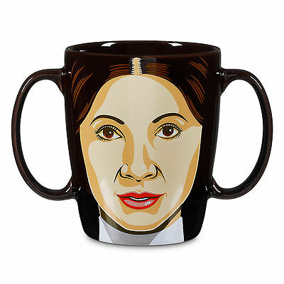 Disney Authentic Star Wars Princess Leia 12oz Mug NEW