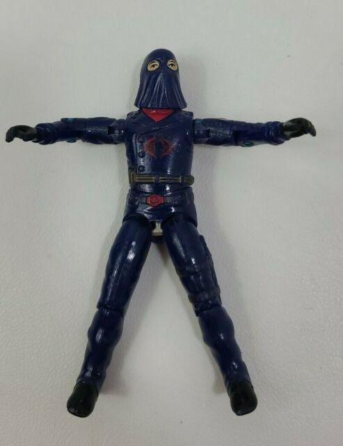 Vintage GI Joe Hooded Cobra Commander v2 1984 Hasbro ARAH Action Figure