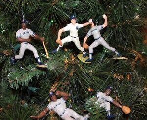 image is loading new york yankees christmas ornaments set 5 winfield