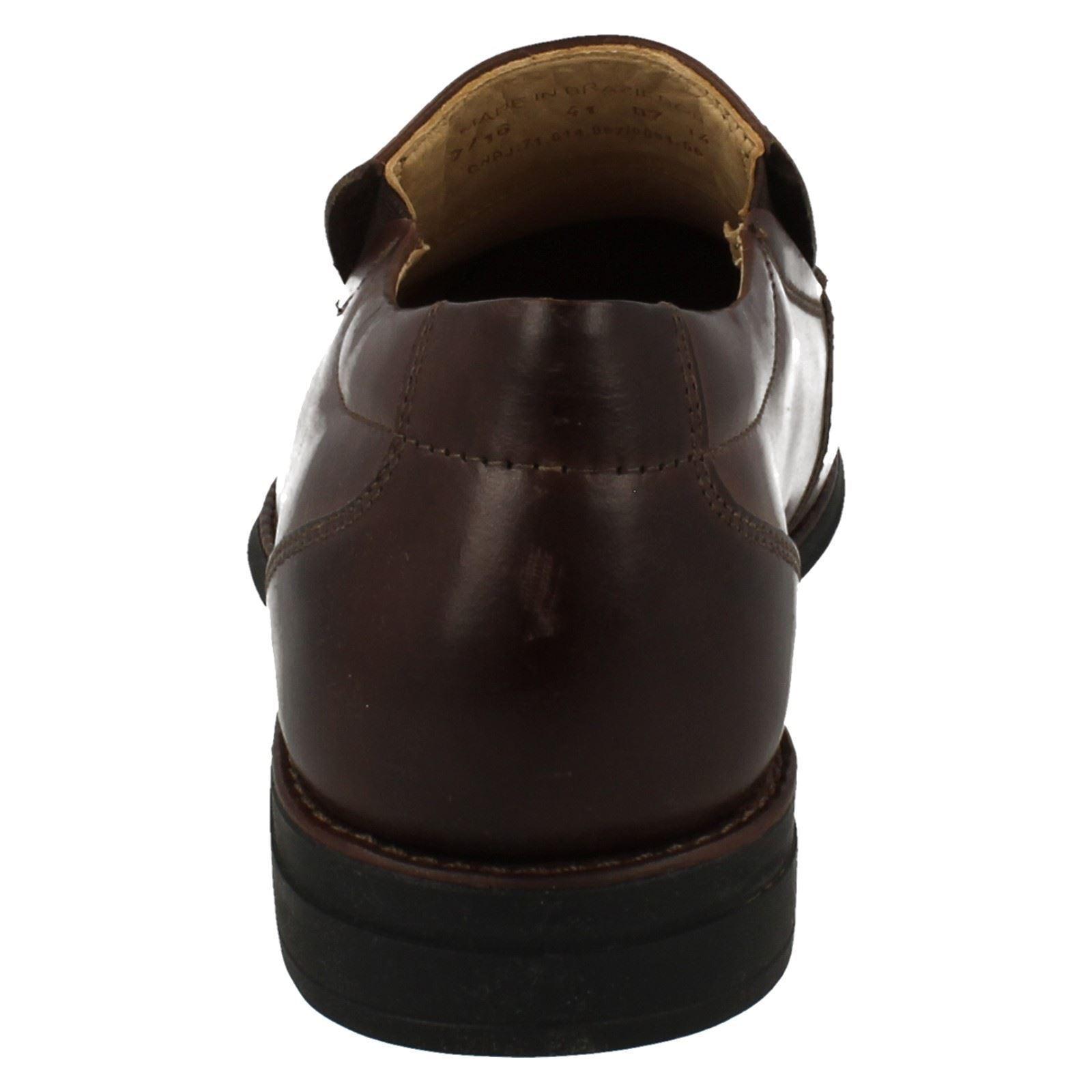 Anatomic & Co 'Tapera' Herren Smart Kaffee Leder leicht Slip On Schuhe