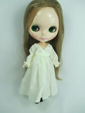 Blythe Outfit Handcrafted nightgown pajamas dress basaak doll 955 cream