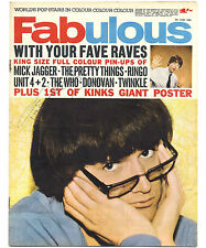 FABULOUS 208 5/6/1965 genuine SIGNED by PJ  PROBY AUTOGRAPHED complete magazine