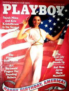 Playboy-Magazine-July-1976-Happy-Birthday-America-Edition-Kris-Kristofferson-Mag