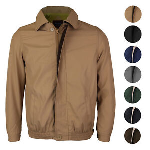 Men-039-s-Microfiber-Golf-Sport-Water-Resistant-Zip-Up-Windbreaker-Jacket-BENNY