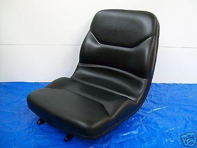 BLACK HIGH BACK SEAT JOHN DEERE 670,770,790,870,970,990,1070,3005,TRACTOR #LH