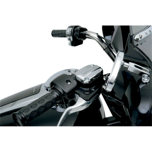 Chrome Front Brake Master Cylinder Cover for Harley Touring 2008-2019