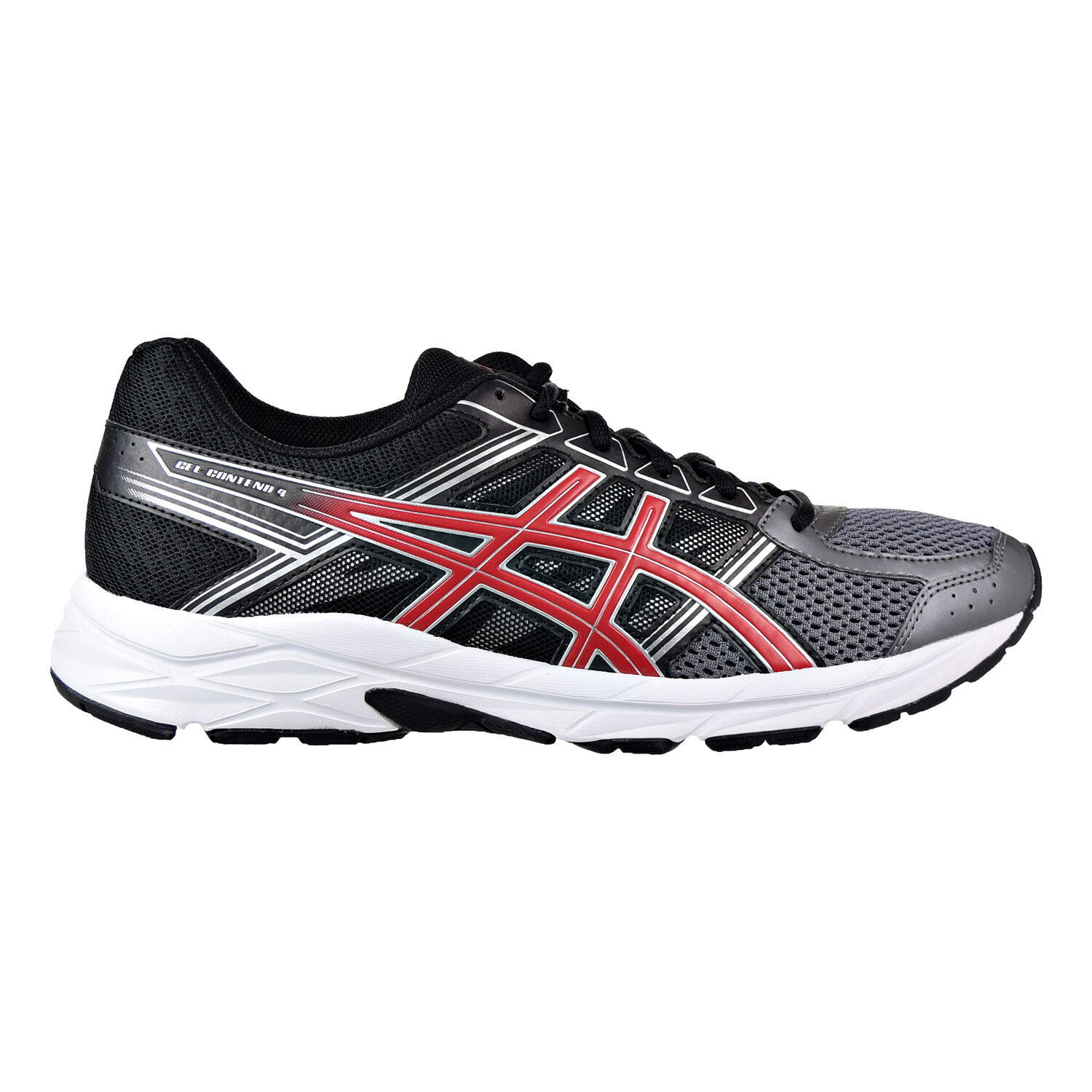 Asics Gel-Contend 4 Men's shoes Carbon Classic Red Black Black Black t715n-9723 cbf3a9