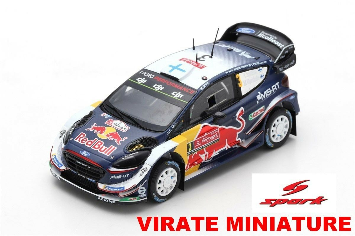 grandi offerte FORD FIESTA WRC 3° RtuttiYE RtuttiYE RtuttiYE PORTUGAL 2018 TEEMU SUNINEN SPARK S5967 AU 1 43  conveniente