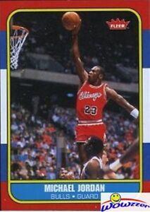 1986-Fleer-Michael-Jordan-Rookie-Reprint-from-Legacy-Hall-of-Fame-Box-Set-MINT