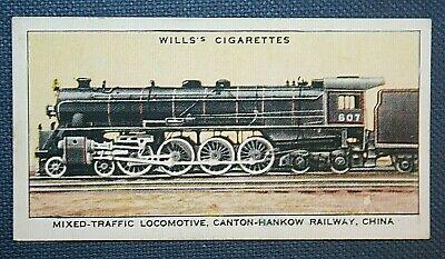 CHINA   Canton - Hankow Railway Steam Locomotive  Vintage Card      eBay