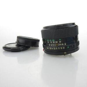 Canon-FD-50mm-1-1-4-1-4-50-Objektiv-lens-caps
