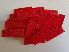 Lego Red Plate 2x6, Part 3795, Element 379521, Qty:25 - New