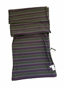 Reversible MAINLINE Stripe Scarf Men New 165cm x 25cm Paul Smith