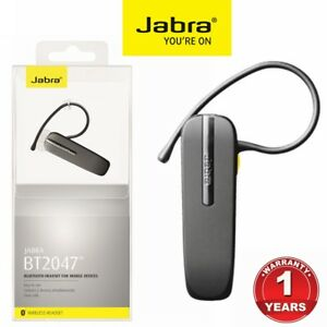Bluetooth-Headset-Jabra-BT-2047-IPhone-Samsung-Wireless-TALK-Headphone-Earphone